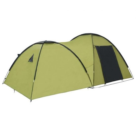 Camping Igloo Tent 450x240x190 cm 4 Person Green