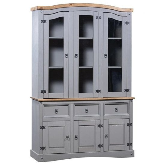 Buffet & Hutch Mexican Pine Corona Range Grey