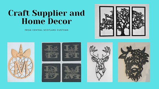 Our New Crafting Range and Personalised Home decor