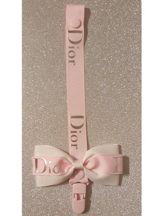 Baby Dior Bow Dummyclip