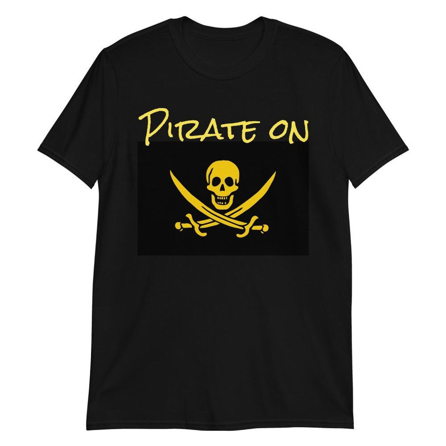 New - Pirate On, Unisex T shirt Released in Store Today