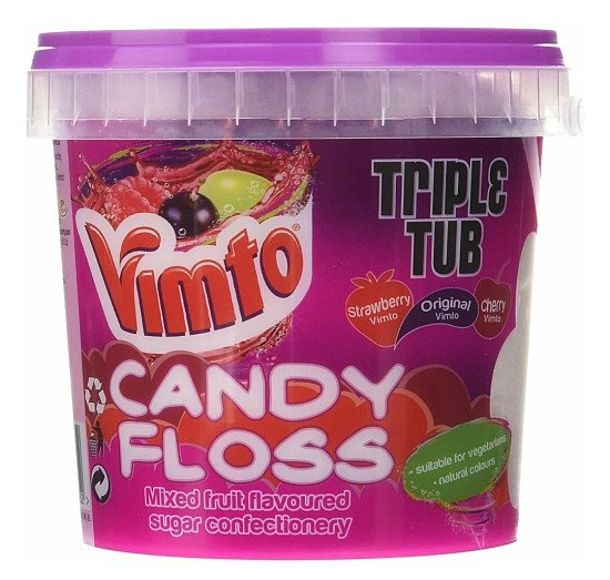 Vimto candy floss 50g