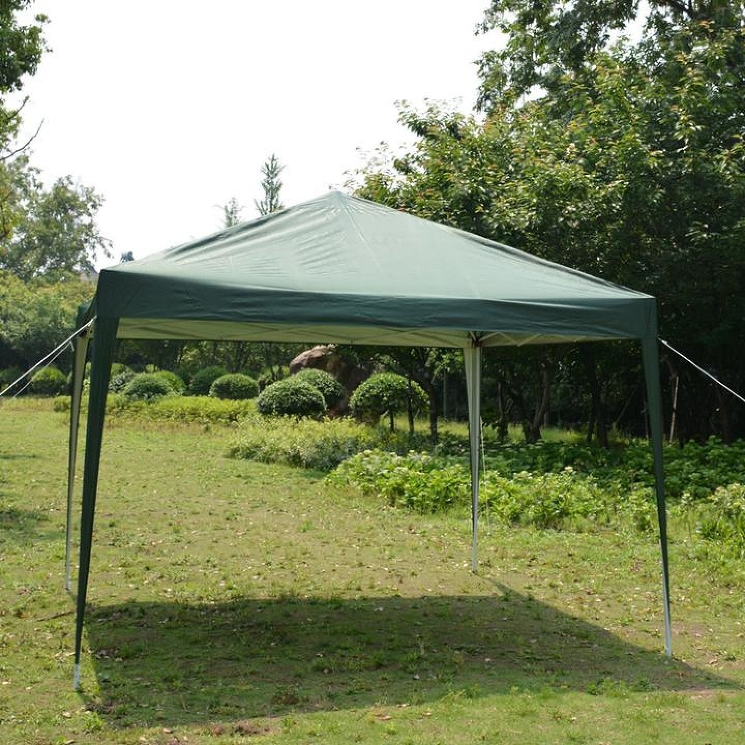 3 x 3m Practical Waterproof Right-Angle Folding Tent Green