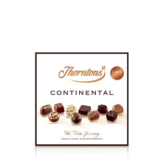 Continental Chocolate Parcel (433g) - £17.00!