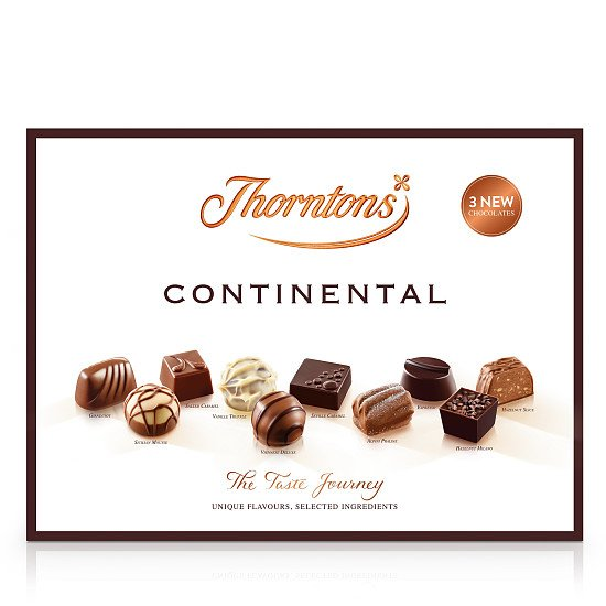 Continental Chocolate Gift Collection (284g) - £12.00!