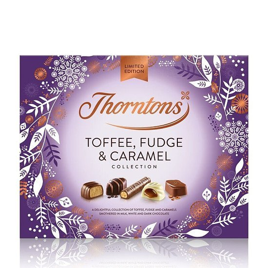 SALE - Limited Edition Toffee, Fudge and Caramel Collection (336g)