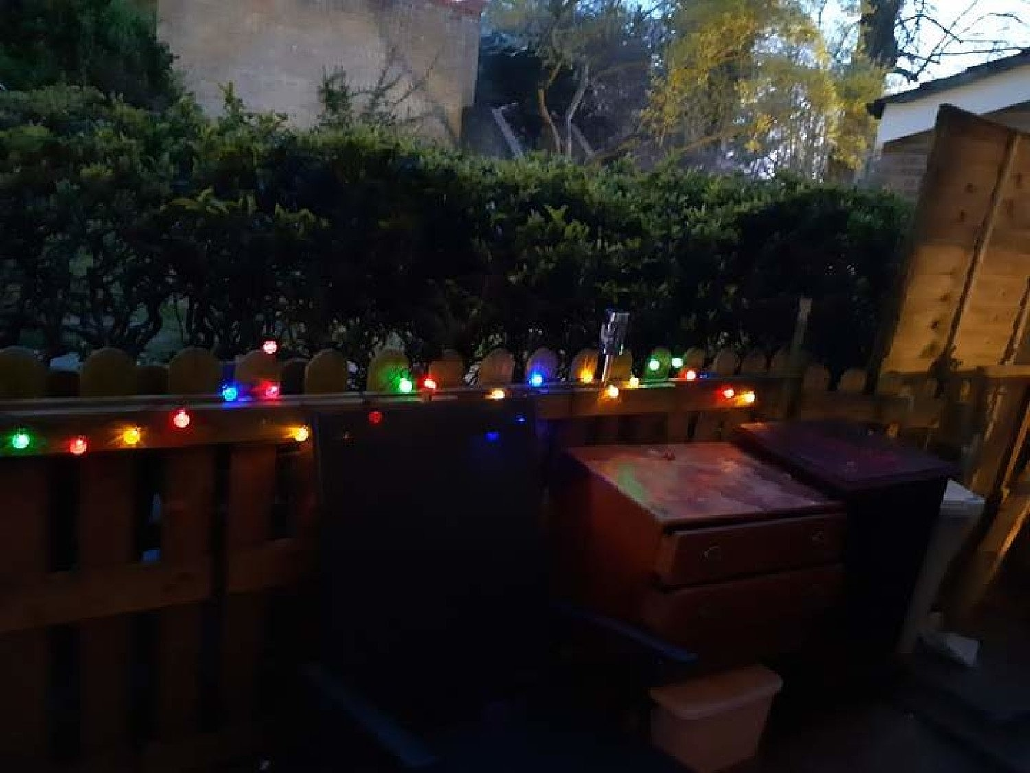 50 LED Solar Powered Garden Party- Multicoloured-5m