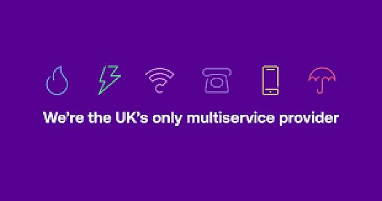 UK only genuine multiservice provider