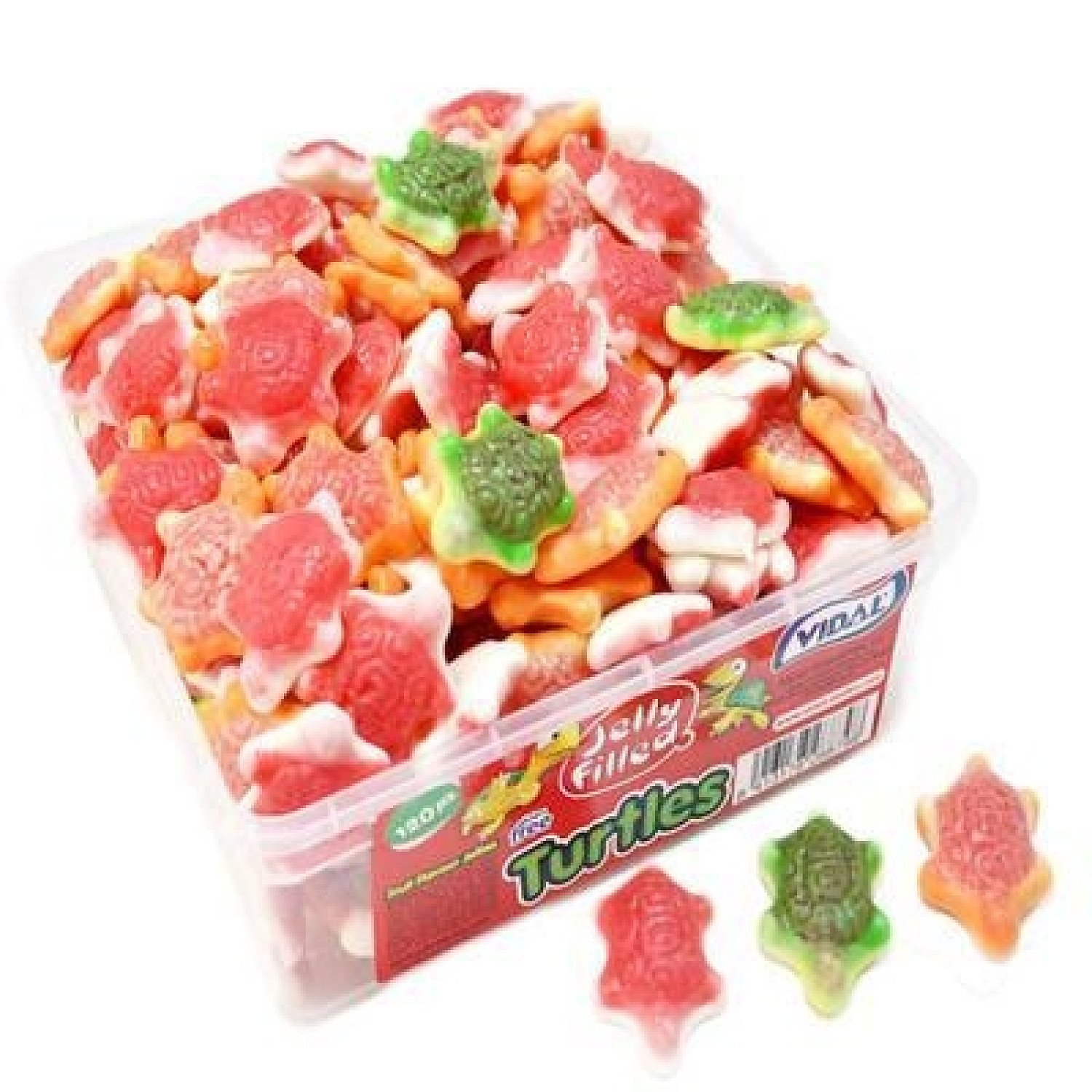 JELLY FILLED TURTLES (VIDAL) 120 COUNT