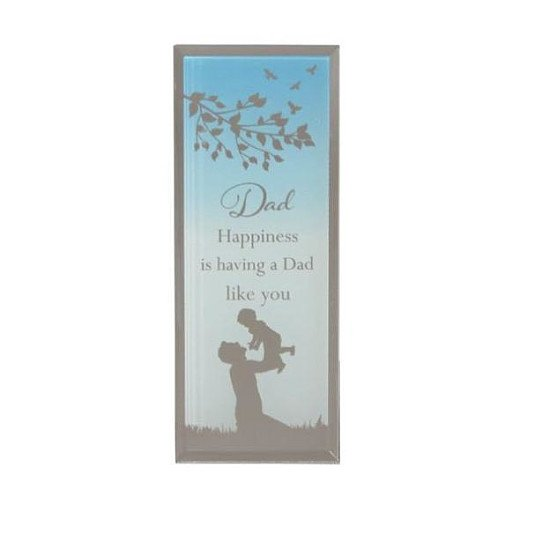 Reflections Of The Heart Dad Standing Plaque