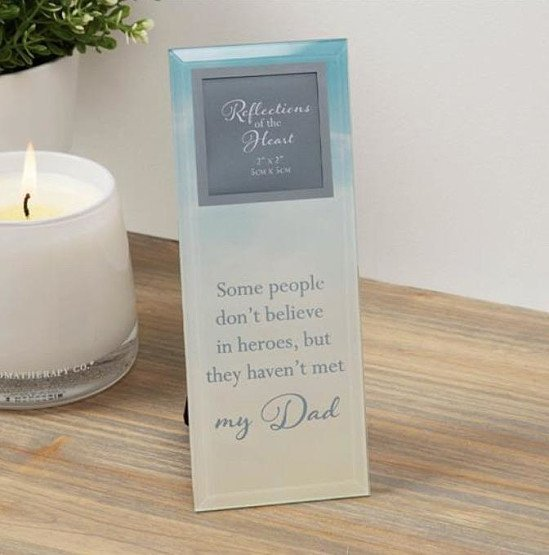 Reflections Of The Heart Photo Frame - Dad