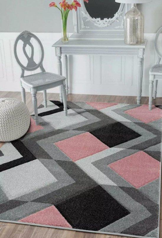 Chicago blush rug 80x150