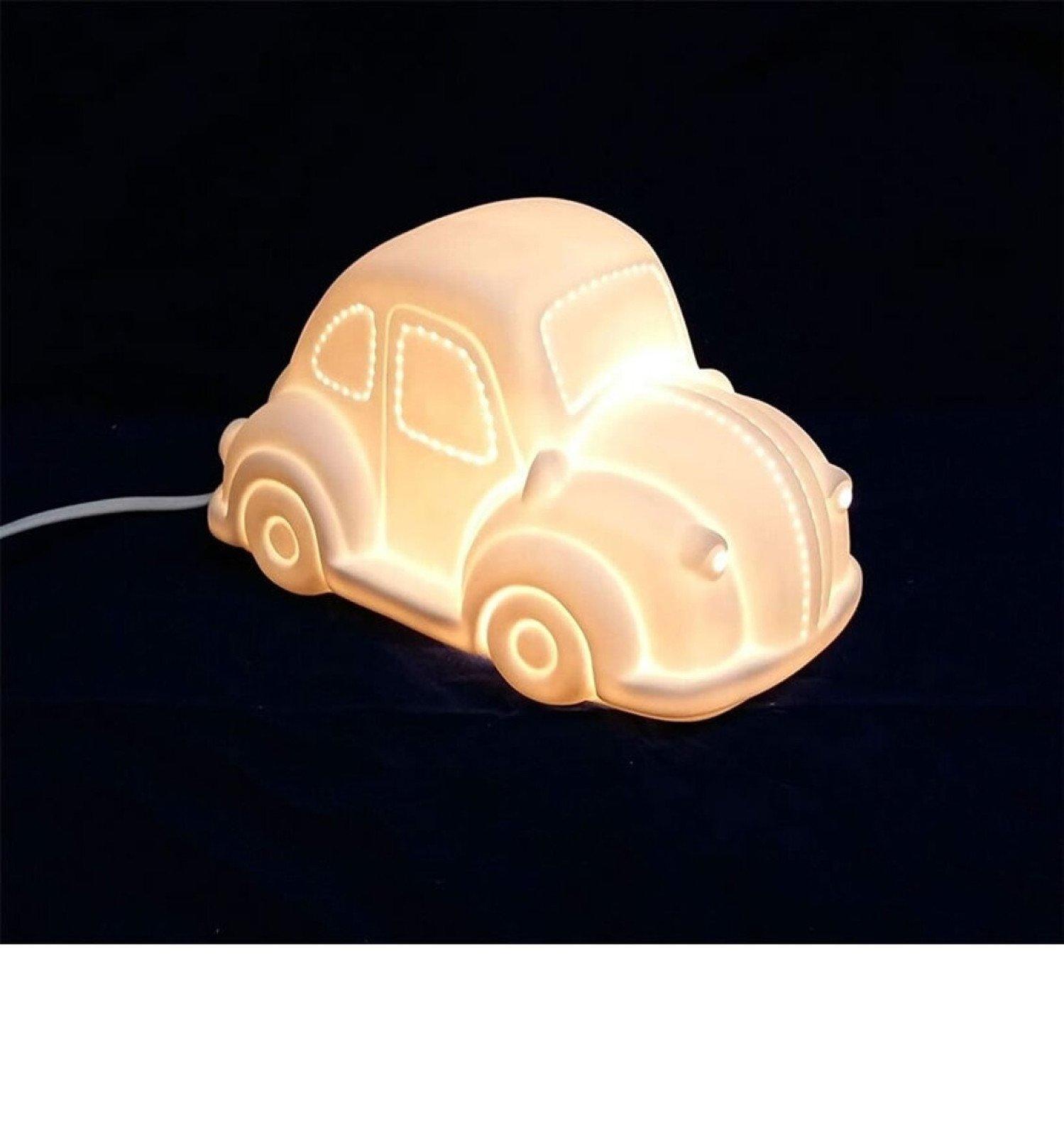3D Ceramic Night Light - Car