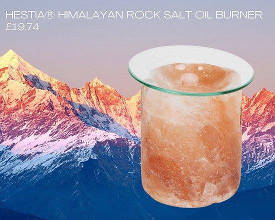 HESTIA® HIMALAYAN ROCK SALT OIL BURNER