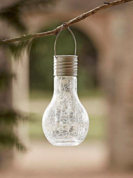 NEW Solar Crackle Bulb Light - £12.50!