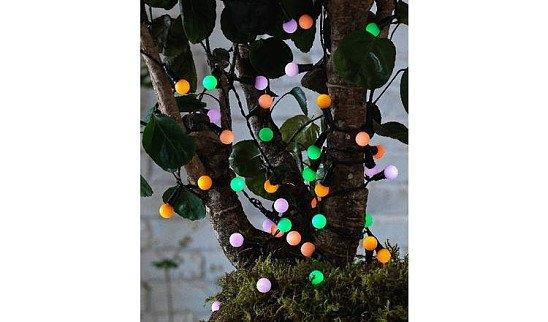 Habitat 50 Multicoloured Berry Solar String Lights - £12.50!