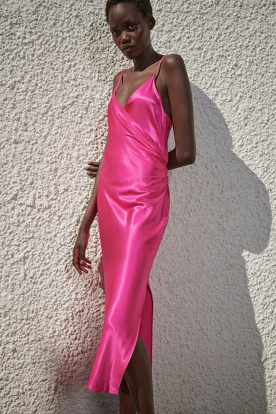 DRAPED CAMISOLE DRESS - £29.99!