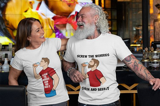 WHAT ABOUT SOME BEER T-SHIRTS