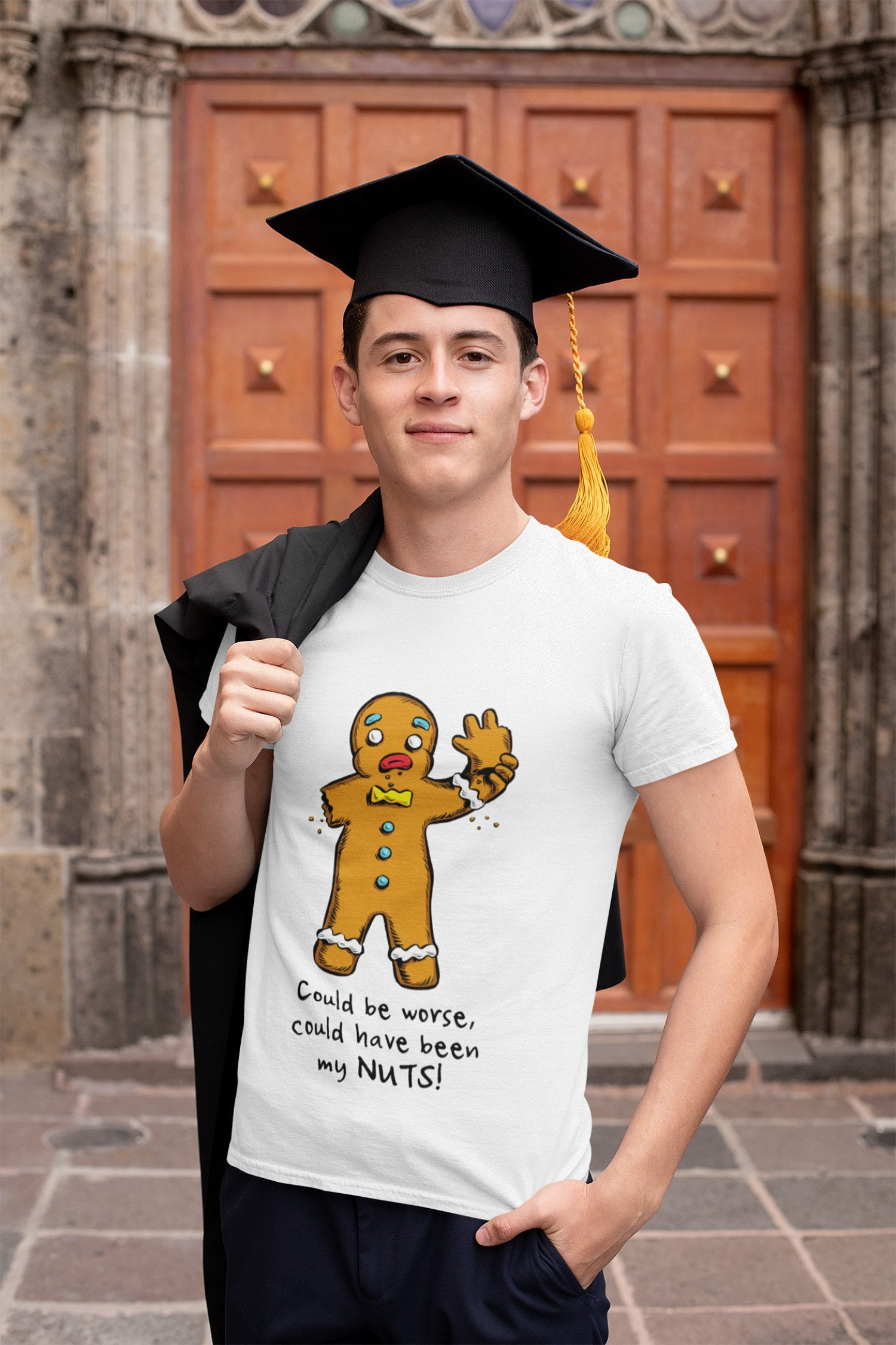 AH YES, HUMOUR T-SHIRT