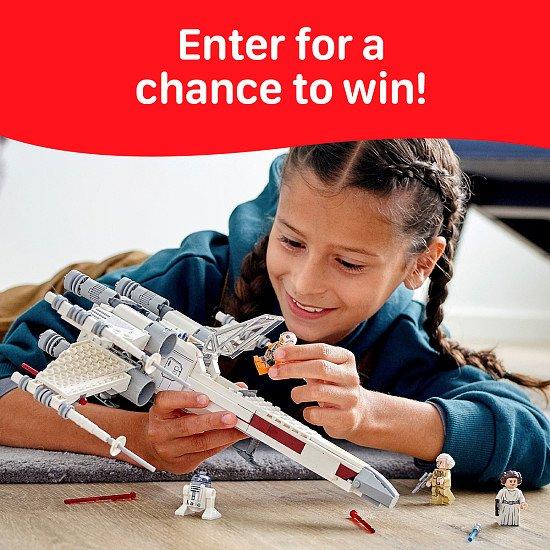 WIN this Lego Star Wars Luke Skywalker's X-Wing Fighter Toy