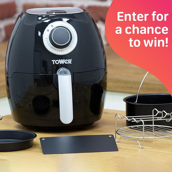 WIN a Tower Air Fryer Oven
