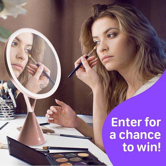 WIN a Rio Illuminated HD Makeup Mirror