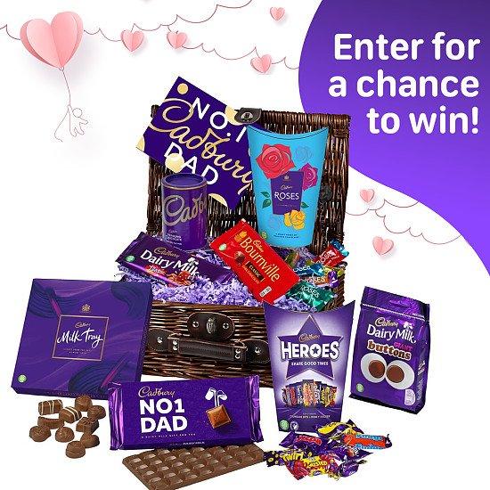 WIN this Cadbury Father's Day Chocolate basket