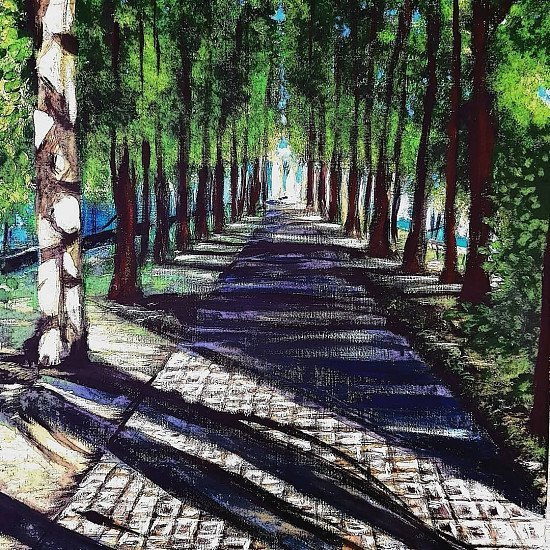 """LIMITED EDITION ARTIST"""" S  FINE ART PRINT, 'A WINDSOR WALK  SPECIAL PROMO PRICE £45!"""