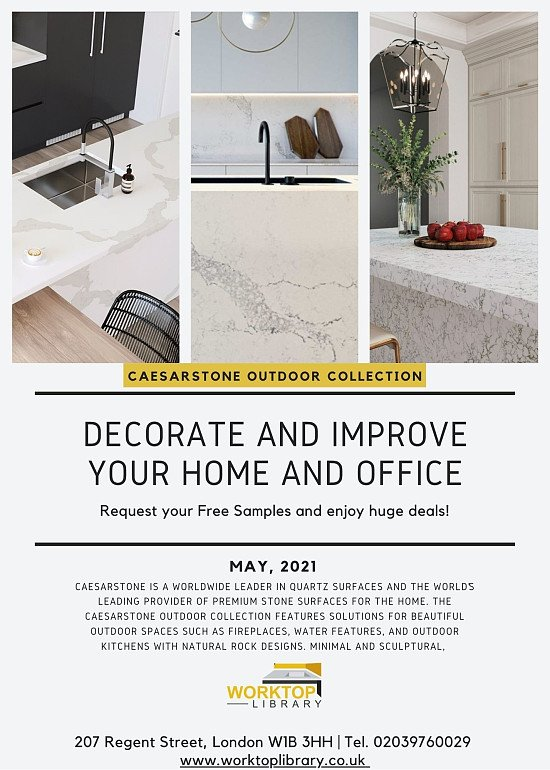 New Caesarstone Whitelight Collection