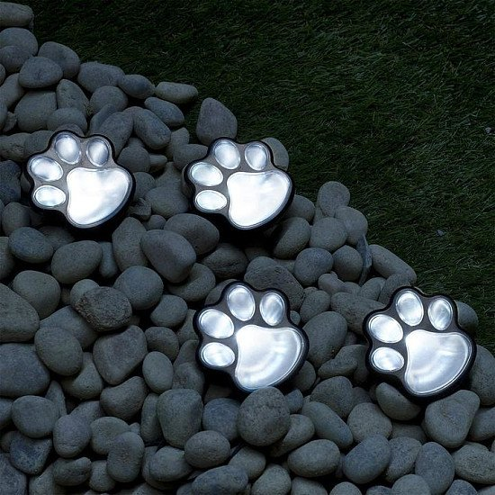 Solar Lights Outdoor Dog Parden Lights