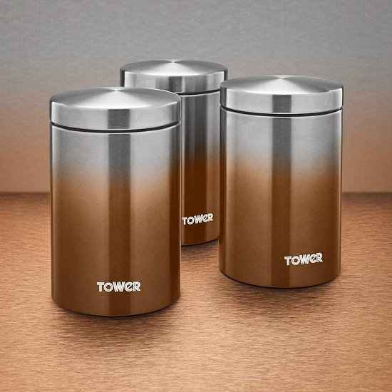 Ombre canisters