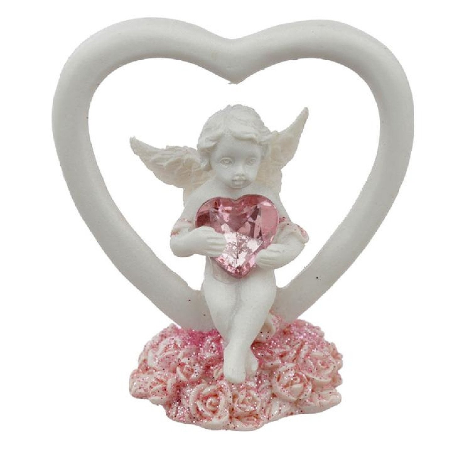 Collectable Peace of Heaven Cherub - Love Conquers All Free Postage £9.99