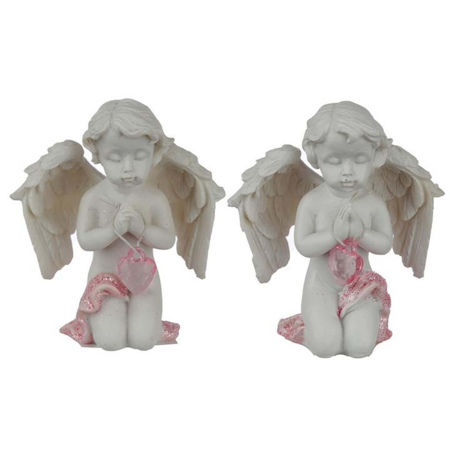 Collectable Peace of Heaven Cherub - Memory of the Heart Free Postage