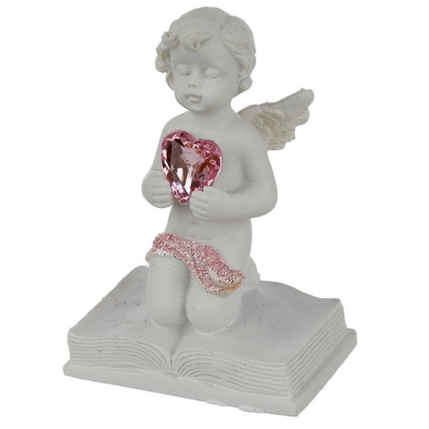 Collectable Peace of Heaven Cherub - Happily Ever After Free Postage