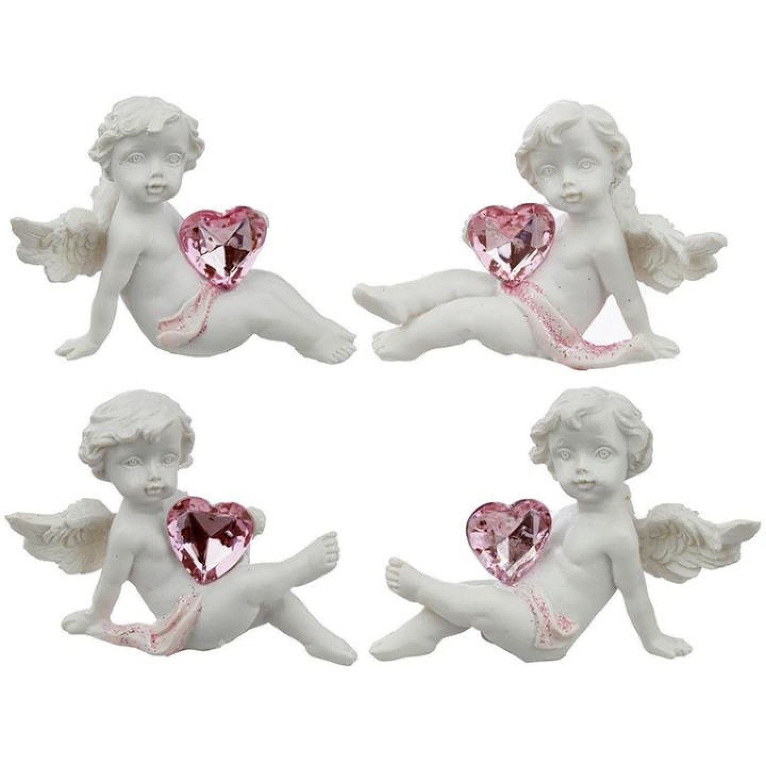 Collectable Peace of Heaven Cherub - Playful Heart Free Postage