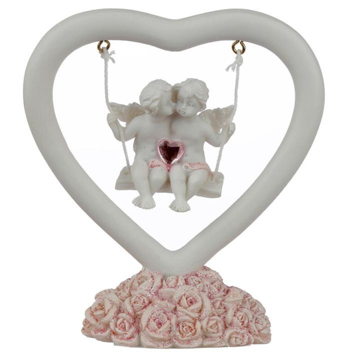 Collectable Peace of Heaven Cherub - Whispers of the Heart Free Postage