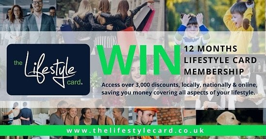 WIN a Lifestyle Card with 1 Year Membership worth £40