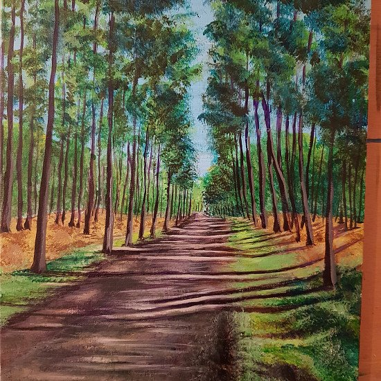 Special edition Artist's original canvas print 'Black Park Walk' PROMO PRICE £45