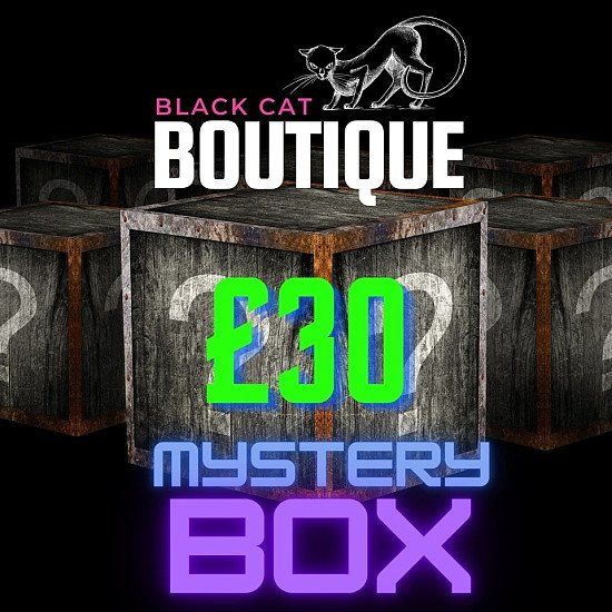 MYSTERY BOX - £34 include delivery