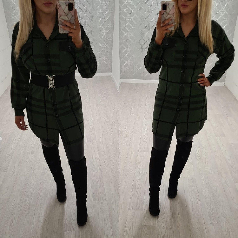 Yasmin Shirt Dress Khaki