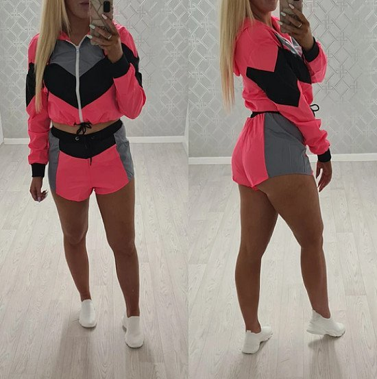 Dayna Co ord Set - Neon Pink