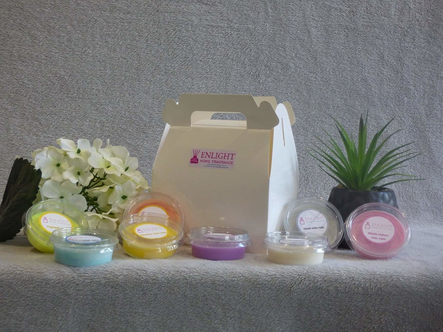 New, in stock. Soy wax ****, Bespoke gift boxes, happy fragrance box