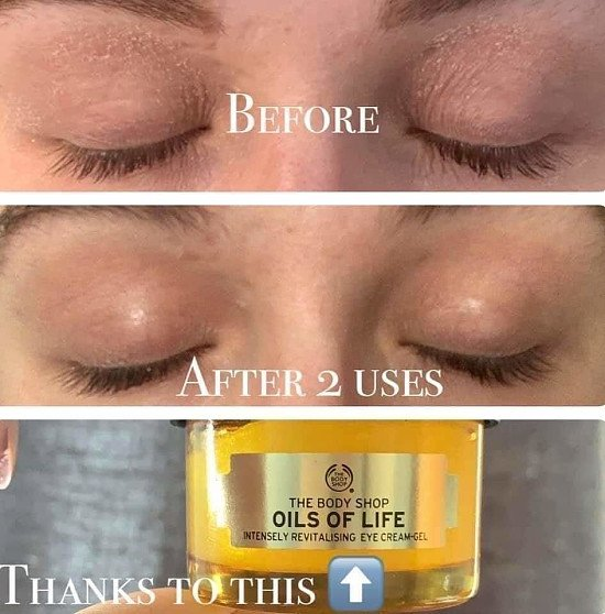 Oil of life eye cream