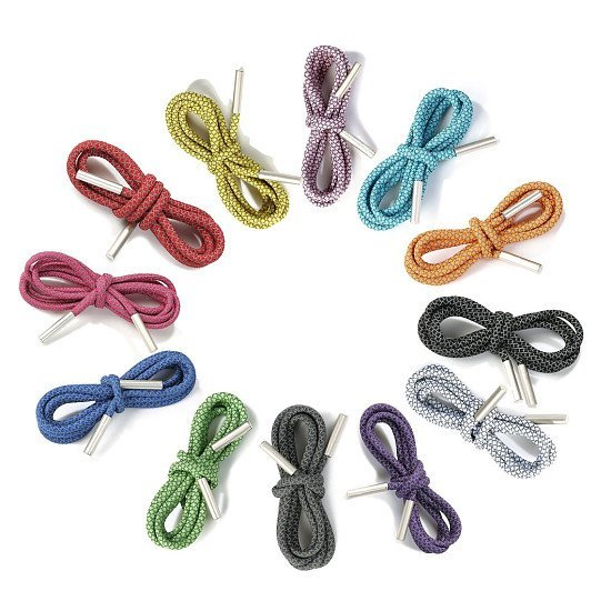 Reflective Bootlaces,Hoodie Cord Rope Shoe Lace