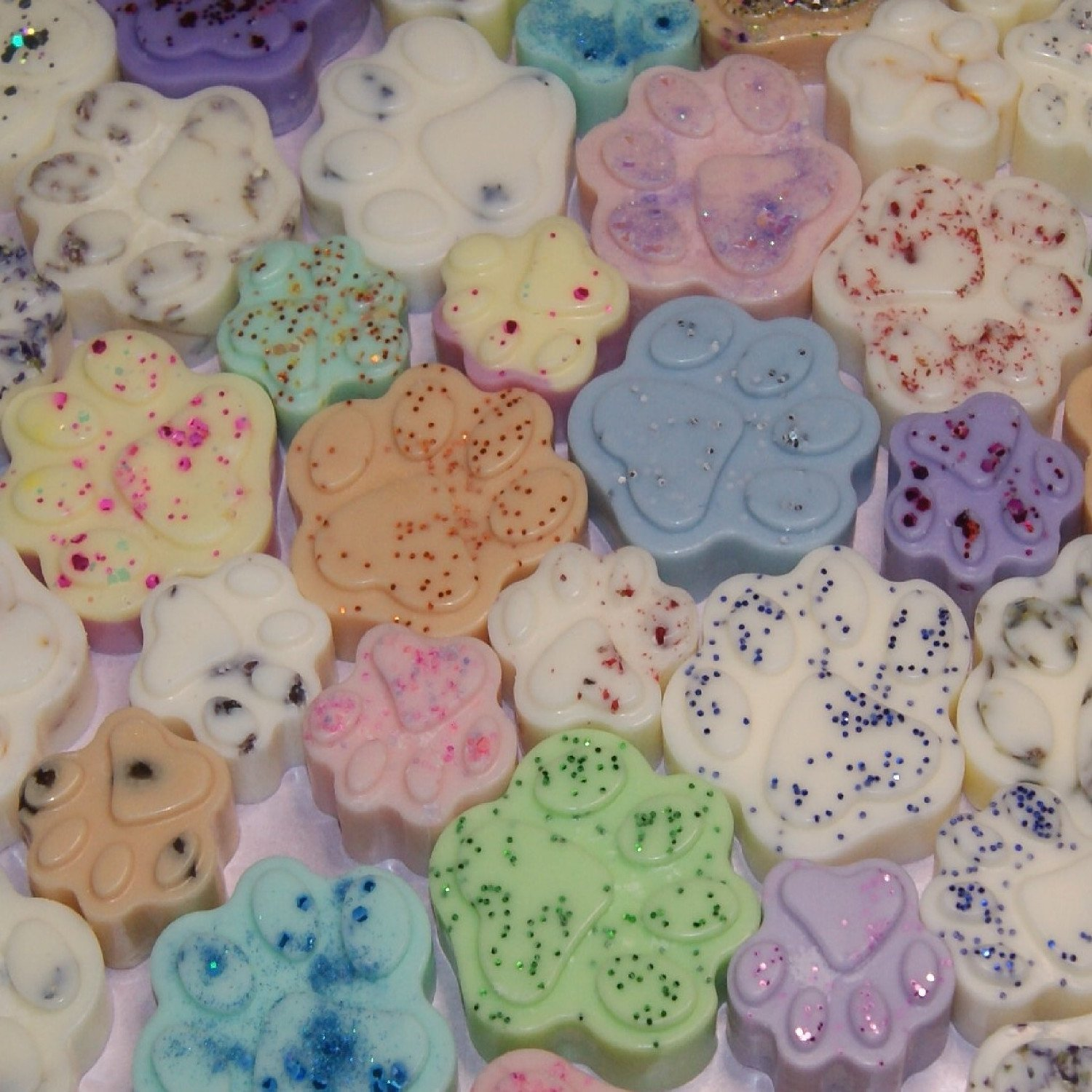 New Product - Paw Prints Wax Melts - 10% Off