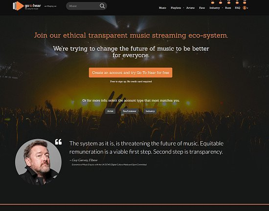 Join a new ethical Music Streaming Platform - and get rewarded