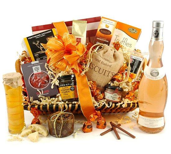 The Amber   Luxury Wine & Food Hamper - £69.99!