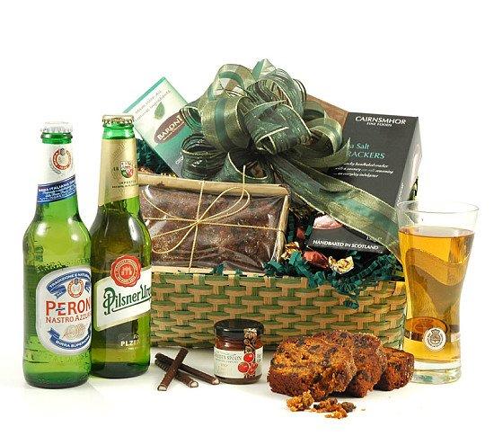 SUMMER HAMPERS - Continental Beer Basket, £32.50!