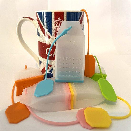 LAST CHANCE! FREE REUSABLE TEA BAG - ANY COLOUR!
