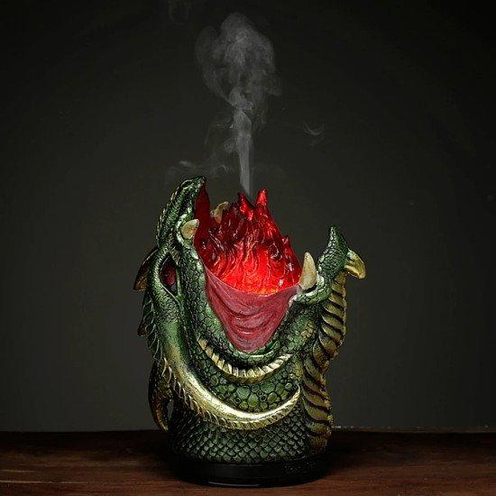 AROMA DIFFUSER LED HUMIDIFIER - DARK LEGENDS FIRE BREATHER TREE DRAGON